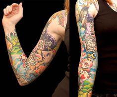 alice in wonderland tattoo sketches Full Sleeve Tattoos, Tattoo Sleeve Designs, Cartoon Tattoos, Disney Tattoos, Lewis Carroll, Manga Tatoo, Alice In Wonderland Characters, Wonderland Tattoo, Tattoo Blog