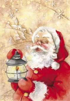 Santa's Light  -  DBK Art