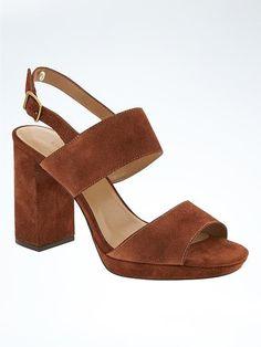 b74992328d3 Block Heel Sandal - Banana Republic Latest Shoes