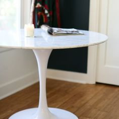 I'm searching for the perfect round dining room table for my makeover! There are…