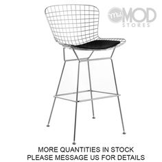 Bertoia Bar Stool. Bertoia Barstool. Bertoia Stool Chrome. Counter Stools, Bar Stools, Mod Store, Harry Bertoia, Seat Pads, Side Chairs, Modern, Chrome, Kitchen Ideas