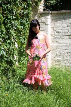 Susie Bubble in Comme des Garcons dress