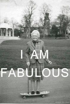 Je suis fabuleuse