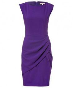 Michael Kors Wool Draped Pleat Dress in Grape worn by Mellie Grant on Scandal. Shop it: http://www.pradux.com/michael-kors-wool-draped-pleat-dress-in-grape-28040?q=s44
