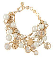 In Chaos Bracelet Pearl by: Henri Bendel
