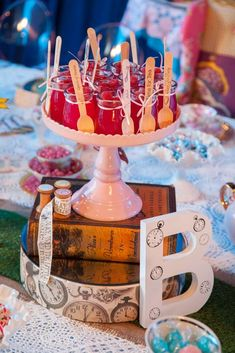 Vintage Alice in Wonderland Birthday Party Ideas | Photo 2 of 40 | Catch My Party