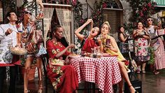 Very Italian Dolce & Gabbana Campaign Features Selfies, Spaghetti | Pret-a-Reporter