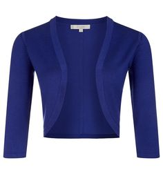 Hobbs - Carrie Bolero £34 (from £49) - great over dresses for smart look for work. Comes in red and navy too.