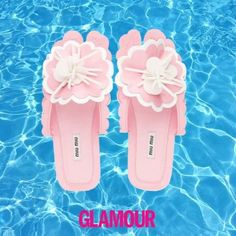 POOL SLIPPERS Summer is coming! Never without #ThisisGlamour #poolslippers #summertime #miumiu #Prada #fendi #pumafenty  via GLAMOUR ITALIA MAGAZINE OFFICIAL INSTAGRAM - Celebrity  Fashion  Haute Couture  Advertising  Culture  Beauty  Editorial Photography  Magazine Covers  Supermodels  Runway Models