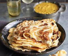 Australian Gourmet Traveller recipe for roti canai by Tony Tan. Australian Recipes, Australian Food, Cooking Bread, Bread Food, Indian Food Recipes, Gourmet Recipes, Cooking Recipes, Beignets, Roti Canai Recipe