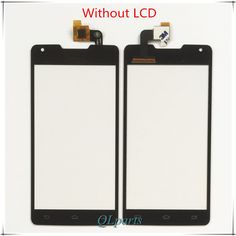 Original Touch Panel Sensor For Philips Xenium W6610 W6618 6610 6618 Touch Screen Digitizer Front Glass Touchscreen Replacement