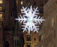 At Form+Function, contemporary lighting is our passion. We don't just sell lights, but can also help you design your home lighting. Nyc Christmas, Christmas Lights, Holiday, Ingo Maurer, Baccarat Crystal, Off The Wall, Light Fixtures, Snowflakes, Chandelier