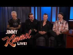 Jimmy Kimmel's FULL INTERVIEW with U2 -- didn't ever think I would get excited about this but I feel like I'm 13 again