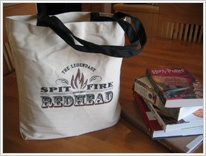Realm of Redheads Store - Product » Legendary Spitfire Redhead Tote Bag