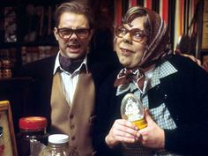 """""""The League of Gentlemen"""" (British Dark Comedy) 3 Series Episodes) Created by Jeremy Dyson, Mark Gatiss, Steve Pemberton, and Reece Shearsmith. British Tv Comedies, British Comedy, League Of Gentlemen Quotes, Steve Pemberton, Tv Funny, Funny Stuff, Hilarious, Reece Shearsmith, English Comedy"""