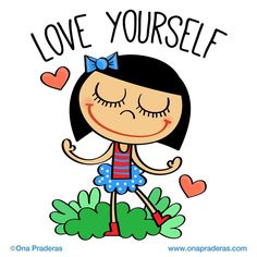 Love yourself #dailydrawing #motivation #love