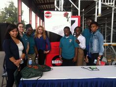 This is Living: NABWIC volunteering for FDOT CAREER DAYS at Bergeron Campground in Davie, FL