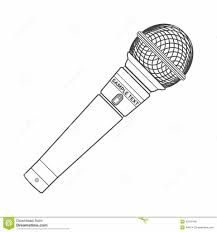 Image Result For Microphone Coloring Pages Microphone Color