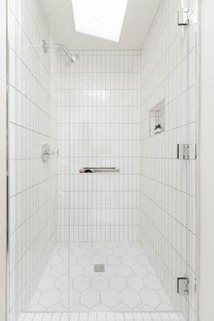 104 best white bathroom tile images bathroom bathroom modern rh pinterest com White Bathroom Floor Tile Designs white horse bathroom tiles design
