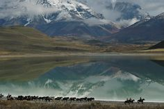 Laguna Amarga by Francisco Velasquez, via Flickr, Chile
