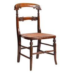 French Antique Child's Chair