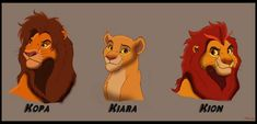 Kopa, Kiara and Kion as adults, I changed they's designs a little Royal Siblings Lion King Series, The Lion King 1994, Lion King 2, King Simba, Disney Lion King, Lion King Tree, Lion King Fan Art, Anime Lion, Disney Animation