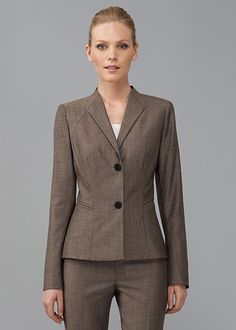 Petite Marseille Suiting Corine Jacket