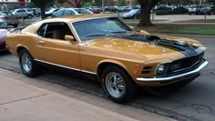 1970 Mustang Mach 1 | 2012 Hot Rod Power Tour Car Show In Stillwater OK