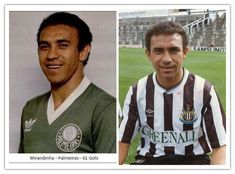 #Mirandinha was the first Brazilian player in England when he moved from #Palmeiras to #NUFC in 1987.