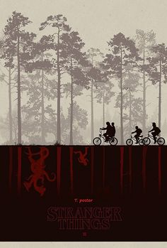"Amazon.com : Stranger Things Movie 2016 : Vinyl BANNER Hi - Res Poster 11""x17"" # A : Everything Else"