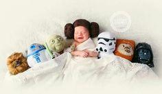 Leia Star Wars Baby Photo Perfection