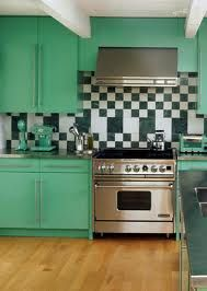 mint green retro kitchen - Google Search