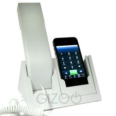 Turn your mobile into a retro looking handset with the iDock Phone!