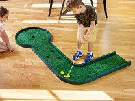 Mini golf is as close as the next room—or the backyard—with Noochie Golf's reconfigurable mini putt course, discovered by The Grommet. Mini Golf Set, Fall Festival Games, Backyard Carnival, Golf Card Game, Golf Tips Driving, Dubai Golf, Golf Simulators, Miniature Golf, Golf Channel