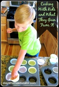 Cooking with kids and what they gain from it - Stay At Home Educator