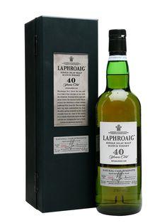 Laphroaig 40 Year Old Scotch Whisky : The Whisky Exchange