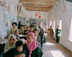 World Classrooms: School Al Ishraq Primary, Akamat Al Me'gab, Yemen. Great site for comparing classrooms from around the world