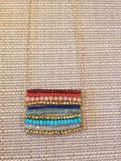 Boho Chic Bead Pendant