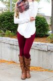 Charcoal Fleece Lined Leggings | UOIOnline.com: Women's Clothing Boutique