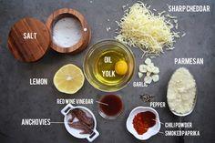 Smoky Kale Caesar // shutterbean I love the display of ingedients