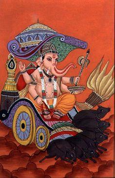 ganesh_the_elephant_god_gouach.jpg (433×671)