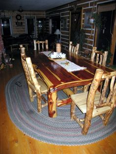 love the kitchen table and chairs