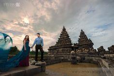 Pre wedding destination photoshoot in Chennai, India