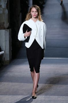 Fall 2013 Fashion Forecast: Black and white separates - Proenza Schouler