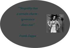 Frank Zappa sitat.