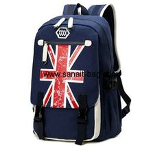 Factory wholesale school backpack canvas backpack travelling backpack MB-095