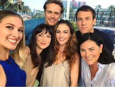 San Diego Comic Con... The Gangs All There... - Outlander Behind the Scenes