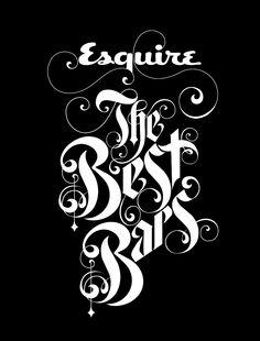 Esquire the Best Bars - Likemindedstudio