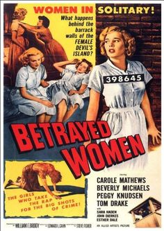 """1930s Vintage Style Adult Movie Poster /""""Main Street Girls/"""" 24x36"""
