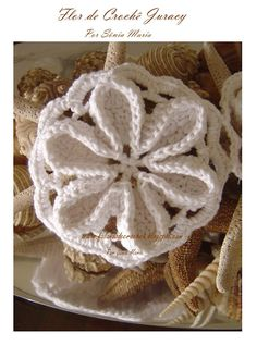 """""""SPEAKING OF CROCHET"""": FLOWER CARPET FOR crochet - Juracy"""
